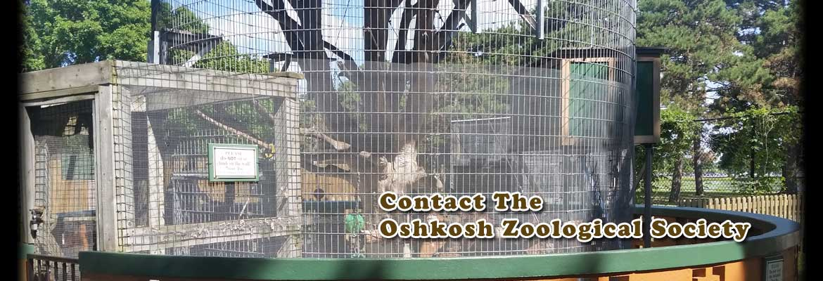 Contact the Oshkosh Zoological Society